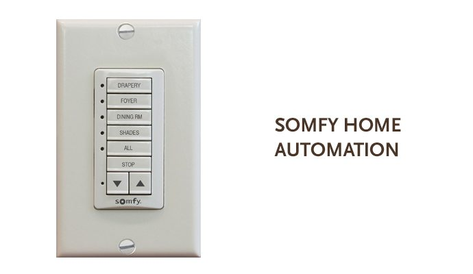 Somfy Deco-Flex 5 Remote Wall Switch