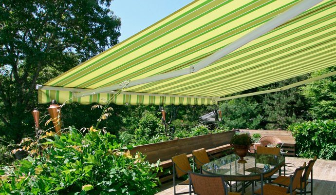 Retractable Awnings Shade And Shutter Systems Inc